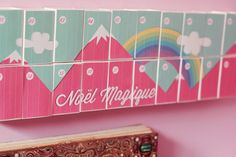 DIY : le calendrier de l'avent «Over the Rainbow» | Poulette Magique