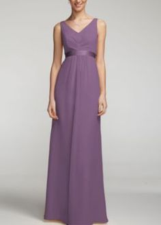 one of Ashlyn's picks :) Long Bridesmaid Dresses - David's Bridal