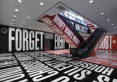 "Barbara Kruger, ""Belief + Doubt"" Hirschhorn Museum, Washington, DC February 2014"