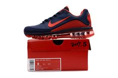 Nike Air Max 2017.5 Men Running Shoes Nave Red