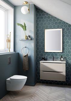 Spanish Home Interior Inspirasjon Linn Bad.Spanish Home Interior Inspirasjon Linn Bad Diy Bathroom, Bathroom Inspo, Bathroom Inspiration, Small Bathroom, Bathroom Plants, White Bathroom, Washroom Design, Bathroom Interior Design, Interior Ideas