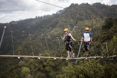 Toro Verde Nature Adventure Park is where you can bask in the breathtaking beauty that is Puerto Rico.