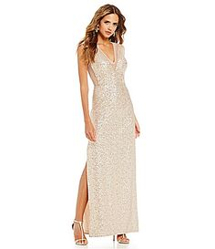 Gianni Bini Dana Waterfall Slit Dress #Dillards | Bridesmaid/man ...