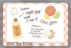 Source: The Spurce   #wittyvows #eggs #lemon #mocktails #mocktailrecipe #cocktails #recipe #drinks #diy #howtomake #food #potd #trending Sour Cocktail, Cocktail Mix, Cocktail Making, Cocktail Drinks, Fun Drinks, Beverages, Craft Cocktails, Summer Cocktails, Homemade Sour Mix