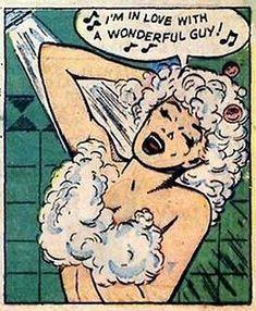 Replaces and cancels the previous Johnnythehorse. Comics Vintage, Old Comics, Comics Girls, Vintage Cartoon, Cartoon Art, Vintage Pop Art, Retro Art, Comic Books Art, Comic Art