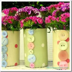 how cute are these vases!