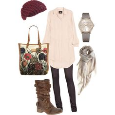 March 2012 casual, created by irisaller.polyvore.com