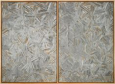 The Dutch Wives, Encaustic and collage on canvas Collection of the artist. Art © Jasper Johns/Licensed by VAGA, New York, NY, included in the Jasper Johns: The Crosshatch Prints and the Logic of Print at Harvard' Arthur M. Neo Dada, Jasper Johns, Art Fair, Public Art, Art Music, Abstract Expressionism, Installation Art, Contemporary Artists, American Art
