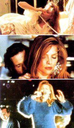 """Michelle Pfeiffer as Suzie Diamond in """"The Fabulous Baker Boys""""."""