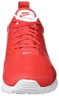 pretty nice 3a582 c438d Nike men s Air Max Tavas Running Red - ShoesColor
