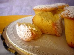 Muffin morbidissimi, ricetta dolce. by Dolcearcobaleno