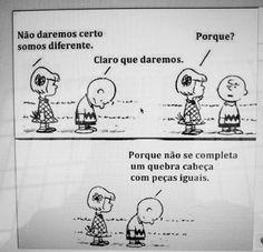 Diferenças, amor, love
