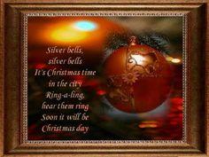 SILVER BELLS  JIM REEVES   Christmas Songs  .wmv