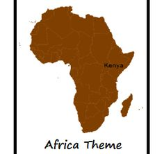 South Africa Coloring Page