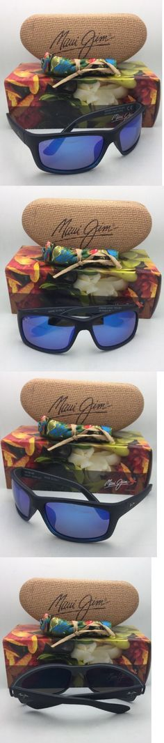 Other Vision Care: Polarized Maui Jim Sunglasses Kanaio Coast Mj 766-08C Black And Blue W Blue Hawaii -> BUY IT NOW ONLY: $249.95 on eBay!