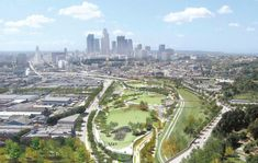 Cornfield Park downtown LA