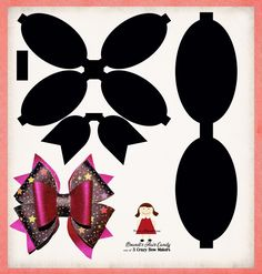 Best 12 Faux Leather bows are super popular right now. You can get in on this new craze with this cheer bow template set. Set includes: a PNG file of each piece, a SVG file of all the pieces together, and a inch PDF file for easy printing. Making Hair Bows, Diy Hair Bows, Diy Bow, Ribbon Hair, Bow Making, Bow Template, Hair Bow Tutorial, Flower Tutorial, Headband Tutorial