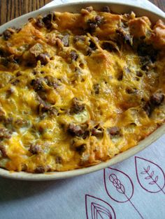 Anne's family Christmas breakfast strata. May make this this year, my boys would love it!