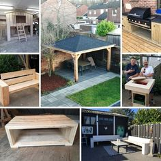 Cool Diy Projects, Outdoor Projects, Home Projects, Diy Privacy Fence, Small House Interior Design, Diy Shed, Backyard Retreat, Woodworking Plans, Garden Design