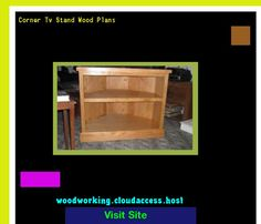 Corner Tv Stand Wood Plans 230249 - Woodworking Plans and Projects!