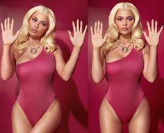 Kylie Jenner shows off her stunning Barbie Halloween costume (Photos) Kylie Jenner Mode, Kylie Jenner Photoshoot, Barbie Halloween Costume, Photoshoot Themes, Selfies, Halloween Disfraces, Kardashian Jenner, Poses, Celebs