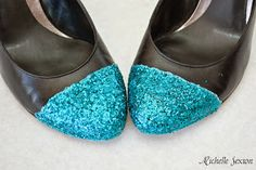 How to Make Glitter Heels - A DIY Tutorial