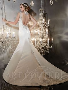 A fabulous bridal designer to share with you today - Christina Wu - the creator of glamorous wedding gowns that redefine romance. Stunning Wedding Dresses, Used Wedding Dresses, Wedding Dress Styles, Bridesmaid Dresses, Prom Dresses, Wedding Outfits, Wedding Attire, Couture Wedding Gowns, Bridal Gowns