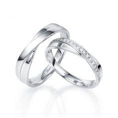 Золотое Обручальное кольцо с бриллиантом (арт. WRA122W), купить в ювелирном  магазине Zbird 6d8083b1ed3