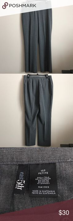 East 5th Dress Pants East 5th gray striped dress pants 14P - like new! Feel free to ask any questions! Sorry, no trades. East 5th Pants Trousers