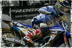 Alex Martin 26 Yamaha National Art BIG 20 x 30 Photo Print Motocross Supercross
