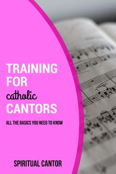 This online course teaches you how to become a more confident, prepared, and spiritual cantor in the Catholic Church!  #cantor #catholiccantor #cantortraining #howtobeacantor #catholiccantorresources #catholiccantortraining #singingskills #leadership #singing #preparationformass #massmusic #spiritualcantor #spiritualcatholiccantor