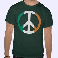 Ireleand Peace Flag Shirt
