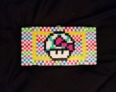 DIY wallet using pearler beads