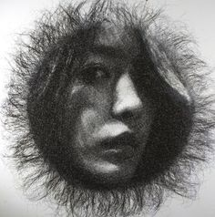 Meticulously Wrapped Aluminum Wire Sculptures by Seung Mo Park. Modern. Art. Sculpture. Installation.