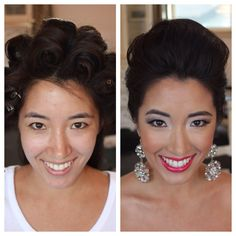 Laguna Beach Bridal Photoshoot-Hair by Dee -Makeup by Stacey with @Shawna Henrie