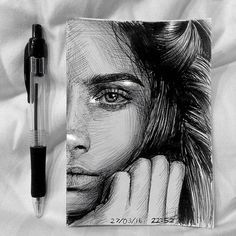 Repost from @marianneh.art ・・・ Portrait of @caradelevingne Ballpoint pen and white pen #caradelevigne #art#pendrawing ▄▄▄▄▄▄▄▄▄▄▄▄▄▄▄▄▄▄▄▄ FOLLOW @zbynekkysela & TAG your artworks #DRKYSELA to be FEATURED! ▬▬▬▬▬▬▬▬▬▬▬▬▬▬▬▬▬▬▬▬ HOT TIPS CLICK link in my profile ▄▄▄▄▄▄▄▄▄▄▄▄▄▄▄▄▄▄▄▄