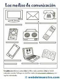 Resultado De Imagen Para Dibujos Productos Tecnologico Y No Tecnologicos Para Color Tecnologias De La Comunicacion Medios De Comunicacion Tecnologia Para Ninos
