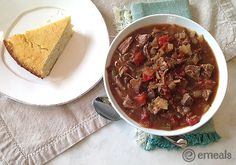 Slow-Cooker Chipotle Chuck Roast Chili | eMeals