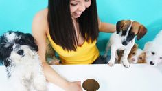 Move over cat cafes this dog cafe is all kinds of cute http://ift.tt/1NcoufU  Pine no more America your first dog cafe has arrived  With the opening of The Dog Cafe LA Thursday the first of its kind in the U.S. according to the owners coffee sippers can now grab a few puppy kisses along with their lattes.  The brightly-colored cafe is home to about a dozen dogs of all sizes and ages rescued from shelters around Los Angeles all of whom are available for adoption. The cafe aims to address high…