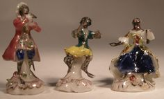 Porcelain Monkey Band Musical Group #7 by Tricia Street - $680.00 : Swan House Miniatures, Artisan Miniatures for Dollhouses and Roomboxes