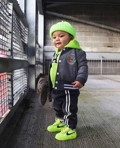 My first OWs, I'm sure it won't be the last thanks to for sourcing these fire kicks for Maddox! Toddler Boy Fashion, Little Boy Fashion, Baby Girl Fashion, Kids Fashion, Fashion Spring, Urban Fashion, Fashion Outfits, Cute Baby Boy Outfits, Little Boy Outfits