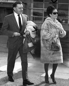 Elizabeth Taylor #Richard Burton