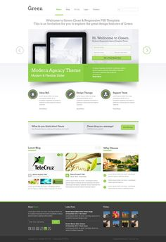 clean corporate web design - #web #design. If you like UX, design, or design thinking, check out theuxblog.com