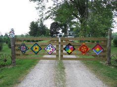 Gate Quilts - rural Ilderton, Ontario, Canada