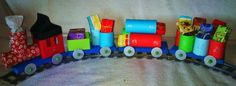 Train to count down Advent or to pull those toys over the mountain - I think I can, I think I can!