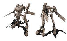 "artwork by izmojuki for ""steel battalion"""