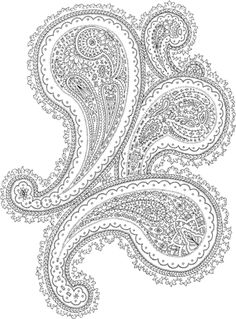 Zentangle coloring pages elephant ethnic zentangle for Paisley elephant coloring pages