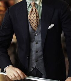 Obliging Ital Uomo Classic Fit Gray Herringbone Two Button Wool Suit Grade Products According To Quality Men's Clothing