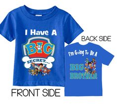 I'm Going To be A Big Brother Shirts I Have A por TheCuteTee