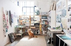 Stevie Howell's Dreamy Workspace